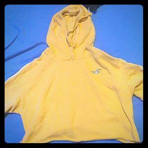 Hollister crop top hoodie